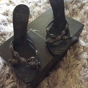 Giuseppe zanotti high heel sandal shoes